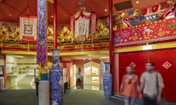 Golden Dragon Museum Internal