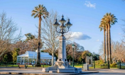 Vahland Drinking Fountain- Bendigo Stock Images