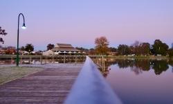 Boardwalk at Lake