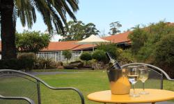Courtyard wine