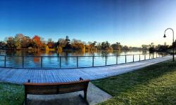 Lake Weeroona Autumn